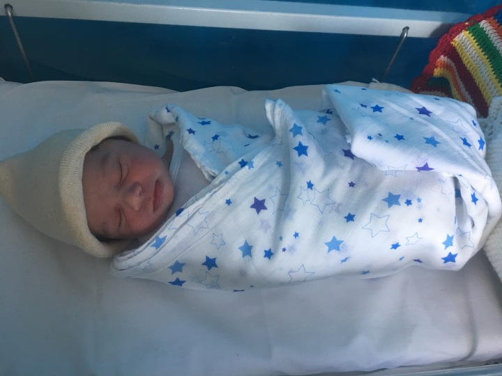 Baby has arrived! My labourstory