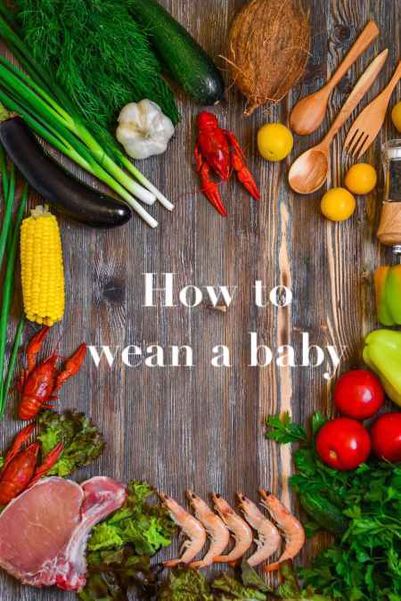 How to wean a baby